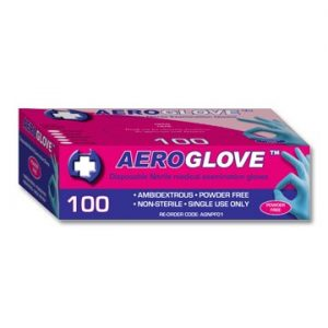 Gloves Nitrile Box 100 Extra Large