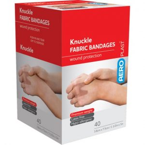 Fabric Knuckle Dressings (Plasters) Box 40