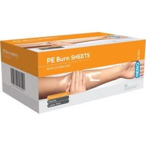 Polyethylene Burn Sheet
