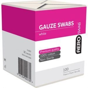 Gauze Swabs 8 Ply (Non-Sterile) Pack 100