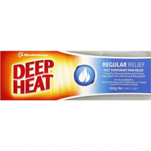 Deep Heat Mentholatum Cream 100g