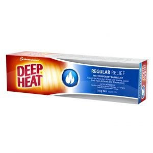 Deep Heat Mentholatum Cream 140g
