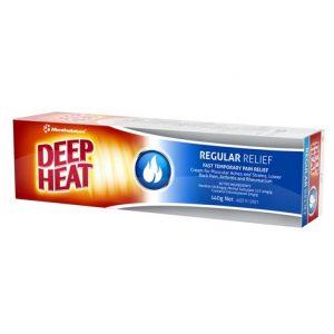 Deep Heat Mentholatum Cream