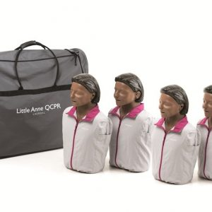 Little Anne QCPR Dark Skin 4 Pack