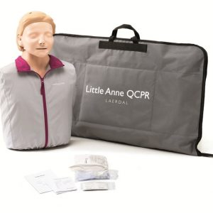 Laerdal Little Anne QCPR Adult CPR Manikins & Consumables
