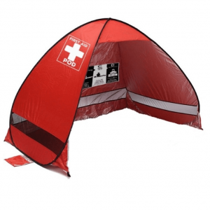 First Aid Pod Screen/Shelter