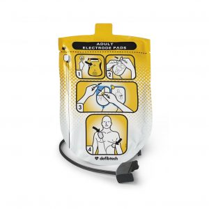 Defib Tech AED Adult Pads (Lifeline Semi and Auto Units)