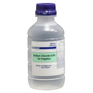 Sodium Chloride Irrigation .9% 500ml (Saline)