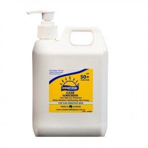 Sunscreen SPF 50+ 1 Litre Pump Bottle