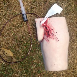 Femoral Wound – Haemostatic Clotting Trainer