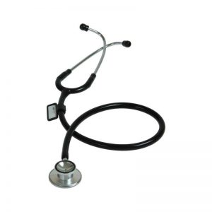 Stethoscope Classic Duel Head Black