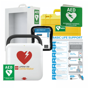 Lifepak CR2 AED Package