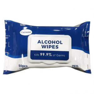 Onecare Alcohol Wipes 75% Isopropyl Alcohol Pack 50