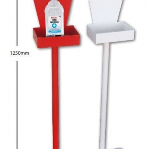 Metal Hand Sanitiser Station Stand