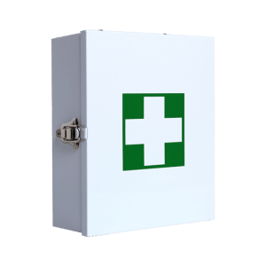 Metal First Aid Cabinet (Wall Mountable) Medium Empty 35cm x 45cm x 17cm