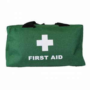 Green Softpack First Aid Bag Large Empty 36cm x 18cm x 12cm