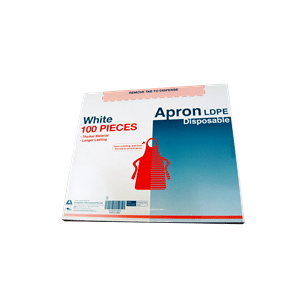 Disposable Apron (Dispenser Box) Box 100