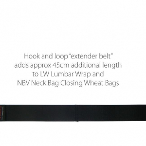 Extender Belt for Neck Wrap and Lumber Wrap Wheat Bags